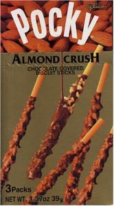 Pocky - Mild Chocolat Almond Crush