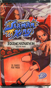 Shaman King Reincarnation Trading Cards Booster Pack