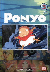 Ponyo on the Cliff by the Sea Film Comic Vol. 03