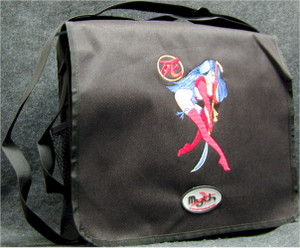 Shi Manga Logo Courier Bag