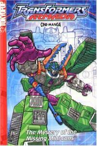Transformers Armada Cine-manga 02 The Mystery of the Minicon
