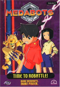 Medabots DVD Vol. 03: Time to Robattle! (Used)