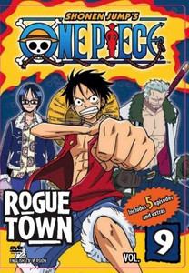 One Piece DVD 09 Rogue Town