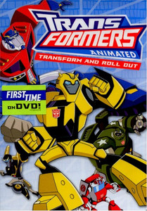 Transformers: Animated DVD Transform and Roll Out