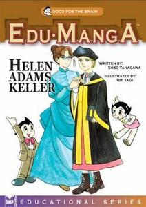 Edu Manga Graphic Novel Helen Adams Keller