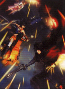 Final Fantasy VII Dirge of Cerberus Wallscroll #278