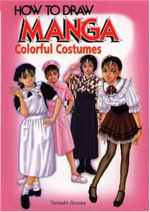 HTD Manga Colorful Costumes (English Edition)