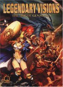 Genzoman Legendary Visions Art of Artbook