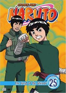 Naruto DVD 25 The Bond of the Shinobi