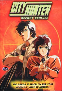 City Hunter DVD Secret Service