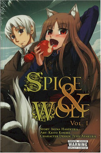 Spice & Wolf Graphic Novel 01