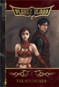 Planet Blood Graphic Novel 01