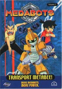Medabots DVD Vol. 01: Transport Metabee (Used)