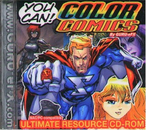 You Can Colors Comics CD-ROM