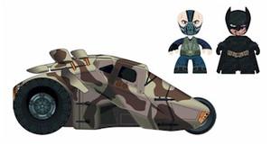 Batman DKR Mini Mez-Itz Bane & BD Batman w/ Tumber