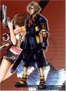 Final Fantasy X-2 Wallscroll #004