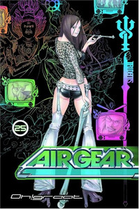 Air Gear Graphic Novel 25