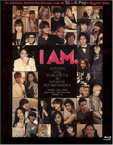 I AM. SMTOWN Live World Tour in Madison Square Garden BluRay