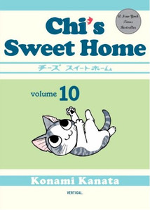 Chi's Sweet Home Graphic Novel 10