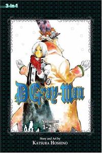 D. Gray-Man Omnibus Graphic Novel 01
