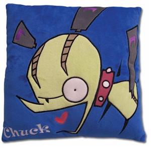 Panty & Stocking Velvet Pillow - Chuck