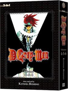 D. Gray-Man Omnibus Graphic Novel 02