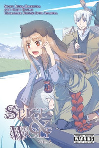 Spice & Wolf Graphic Novel 08