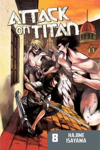Attack on Titan Graphic Novel 08