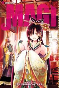 Magi The Labyrinth of Magic Graphic Novel Vol. 06