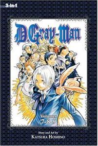 D. Gray-Man Omnibus Graphic Novel 03