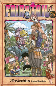 Fairy Tail Graphic Novel 28
