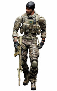 Medal of Honor Warfighter Play Arts Kai AF - Preacher