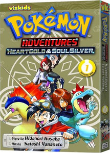 Pokemon Adventures: HeartGold & SoulSilver GN Vol. 01