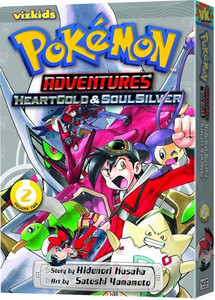 Pokemon Adventures: HeartGold & SoulSilver GN Vol. 02