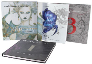 The Sky: The Art of Final Fantasy Art Book Slipcased Edition