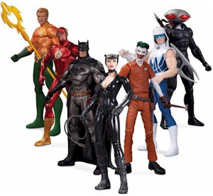 DC New 52 Super Heroes vs Super Villains Action Figure Set