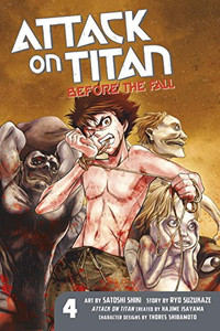 Attack on Titan: Before the Fall Graphic Novel 04