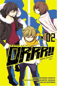 Durarara!! Yellow Scarves Arc Graphic Novel 02