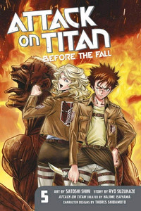 Attack on Titan: Before the Fall Graphic Novel 05
