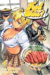 Food Wars! Shokugeki no Soma Graphic Novel 04