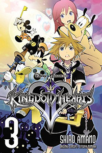 Kingdom Hearts II Graphic Novel Vol. 3