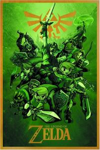 Legend of Zelda Poster - Links