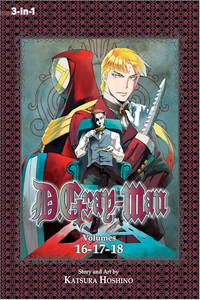 D. Gray-Man Omnibus Graphic Novel 06