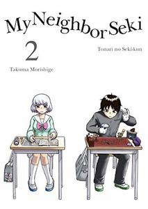 My Neighbor Seki Graphic Novel 02