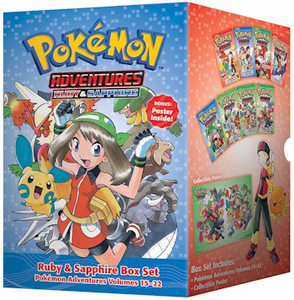 Pokemon Adventures Box Set 3 Ruby & Sapphire