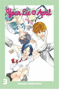 Your Lie In April Graphic Novel 03