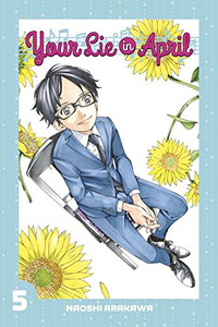 Your Lie In April Graphic Novel 05