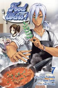 Food Wars! Shokugeki no Soma Graphic Novel 07
