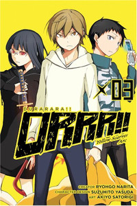 Durarara!! Yellow Scarves Arc Graphic Novel 03