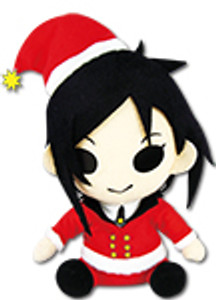 Black Butler Plush Doll Sebastian Christmas Dress